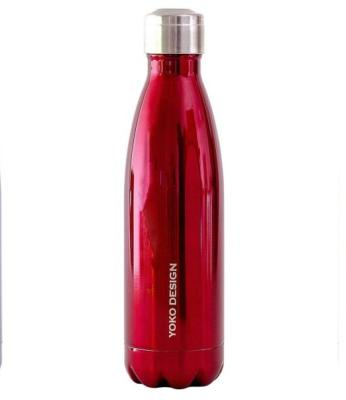 Bouteille isotherme inox Rouge 500ml
