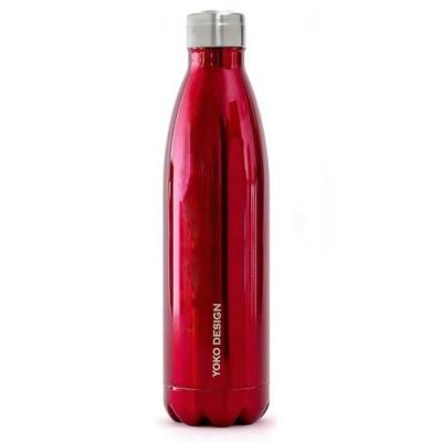 Bouteille isotherme inox Rouge 750ml