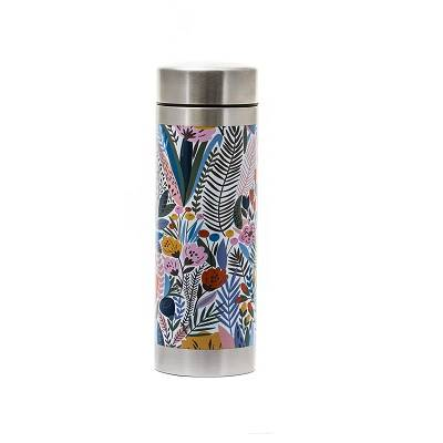 Théière nomade isotherme inox Flower 350ml
